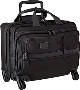Tumi Apha 2 - 4 Wheeled Deluxe Brief with Laptop Case