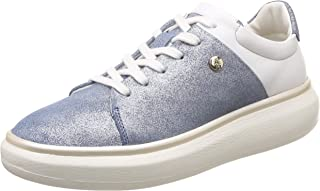 Hush Puppies Women's Sherran_Derby Leather Sneakers