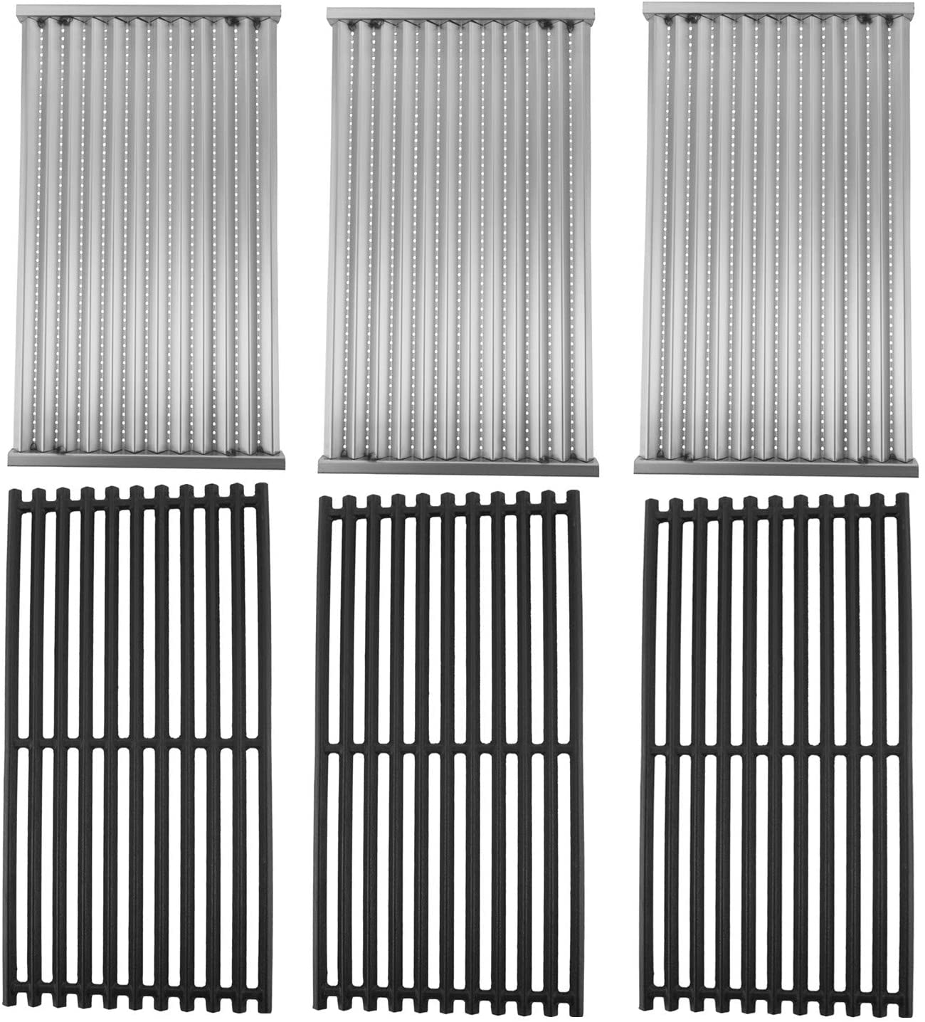 SafBbcue Cast Iron Max 55% OFF Cooking Grates Emitter New Orleans Mall and Replaceme Infrared
