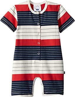 Stars and Stripes Henley Shortie Jumpsuit (Infant)