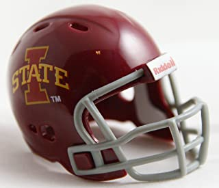 IOWA STATE CYCLONES NCAA Riddell Revolution POCKET PRO Mini Football Helmet