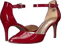 Rosy Red Sleek Patent PU