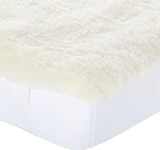 SnuggleWool Lambs Wool Pad Crib, 28