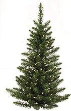 Vickerman 5' Camdon Fir Artificial Christmas Wall Tree, Unlit - Faux Half Christmas Tree - Seasonal Indoor Home Wall Decor