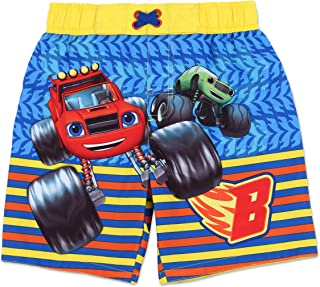 Toddler Boy Authentic Character Swim Trunk UPF 50