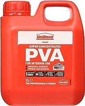 UniBond Super PVA Adhesive, High-Strength PVA Glue for Glueing, Priming & Sealing, Ideal As Sealer, Primer & Wood Glue, Al...