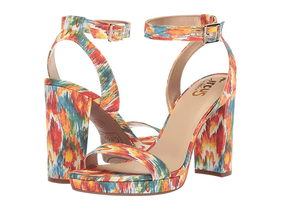 Circus by Sam Edelman Annette (Bright Multi Watercolor Ikat) Women