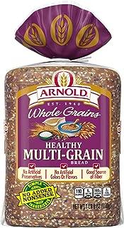 Best arnold multigrain bread nutrition Reviews