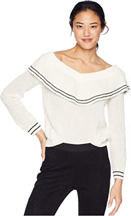 f0a3e93f4e1adc Rush Week Off the Shoulder Sweater