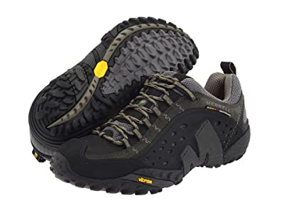 Merrell Intercept (Smooth Black Leather) Men