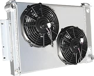 3 Row All Aluminum Replacement Radiator PLUS 2-10