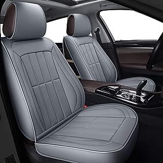 LUCKYMAN CLUB Car Seat Covers fit Most Sedan SUV fit for Volvo S40 S60 S70 S80 S90 V50 V60 V70 V90 XC40 XC60 XC70 Honda Civic CRV Ridgeline (Full Set, Gray)