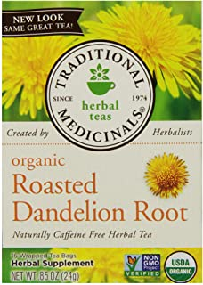Traditional Medicinals Organic Roasted Dandelion Roots, 24.09g