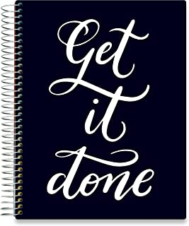 Tools4Wisdom 2020 Planner - Dated December 2019 Plus January to Dec 2020 Calendar Year - Daily Weekly Monthly Personal Organizer - 8.5 x 11 GTD Hardcover