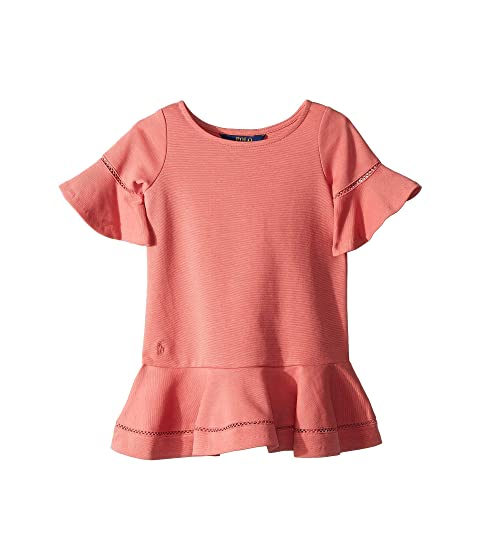 16c79189568 Polo Ralph Lauren Kids Ponte Inset-Lace Dress (Toddler) at 6pm