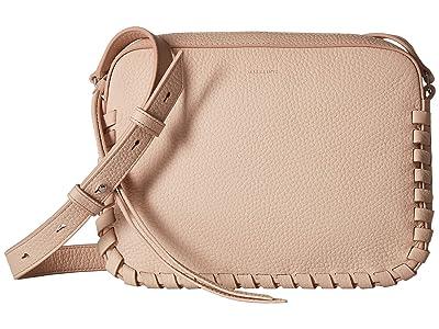 AllSaints Kepi Mini Crossbody (Peach Pink) Cross Body Handbags