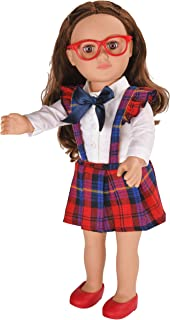 myLife Brand Products My Life As Poseable School Girl Doll - Brunette