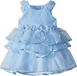 Nanette Lepore Kids - Organza Dress w/ 3D Flower (Infant)