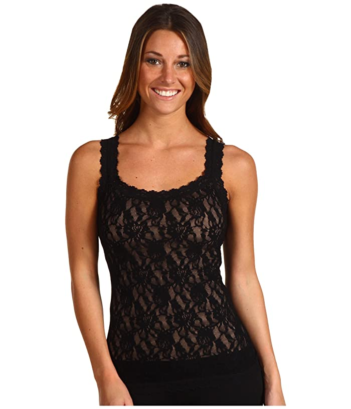 Hanky Panky Signature Lace Unlined Cami (Black) Women