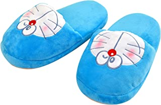 モリシタ(Morisita) スリッパ ブルー 22~25cm対応 小学館 ドラえもん クニャック (スリッパ) 4620220