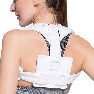 Velpeau Figure 8 Clavicle Brace - Broken Collarbone Sling for Injuries & Fractures, Shoulder Support Strap for Posture Corrector for Men and Women(Large)