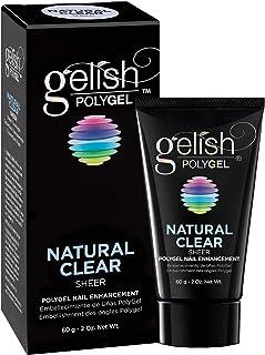 Hand & Nail Harmony Gelish Polygel Nail Enhancement Natural Clear Sheer Shade
