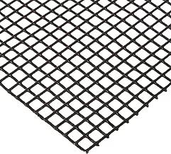 12002E063-36X48 PVC Coated Galvanized Steel Welded Wire Mesh, 2 x 2 Mesh Size, 76.4% Open Area, 1/16