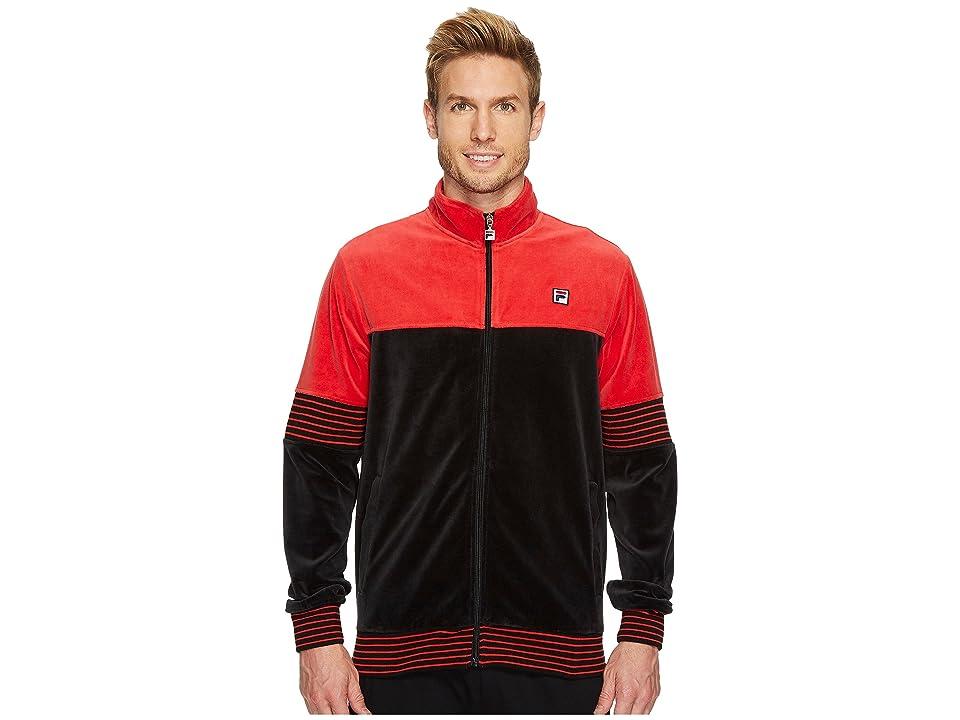 Fila Marcus Track Jacket (Red/Black) Men