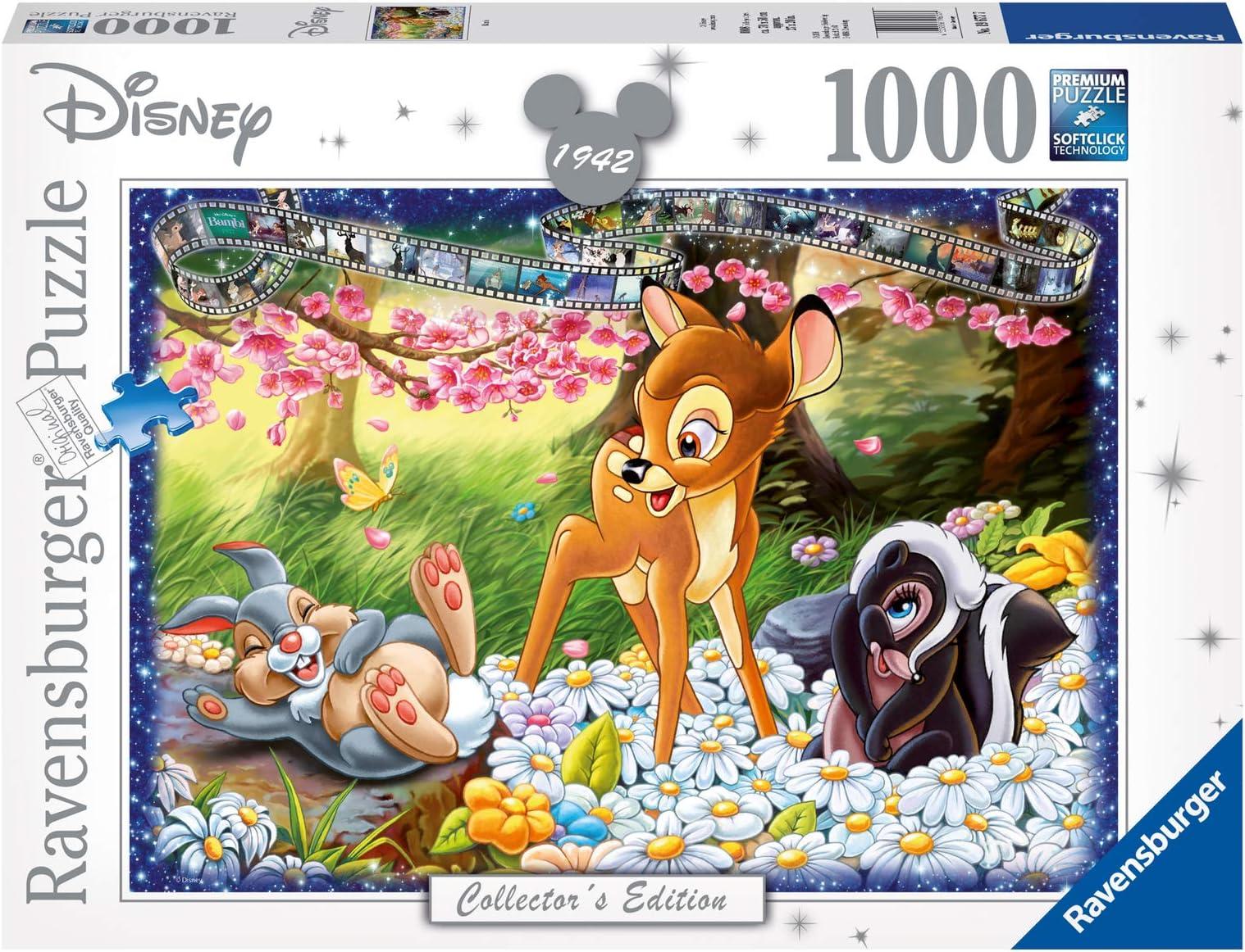 19677 Ravensburger Bambi Disney Collector/'s Edition Jigsaw Puzzle 1000pcs