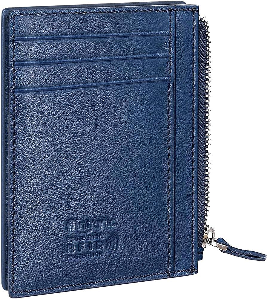 Flintronic porta carte di credito unisex in pelle LEU-2125285