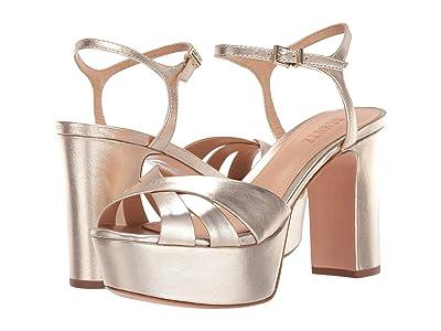 Schutz Keefa (Platina Metallic Napa) High Heels