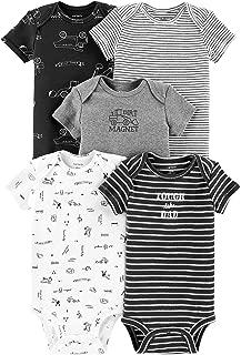 Carters Baby Boys 5-pk. Construction Bodysuits 9 Months Grey/Black/White