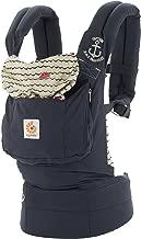 Ergobaby Original Award Winning Ergonomic Multi-Position Baby Carrier with X-Large Storage Pocket, Sailor