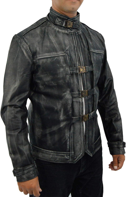 F&H Men's Gaming Genuine Leather Outsider Coat