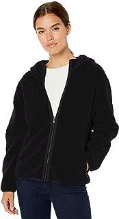 black teddy fleece jacket