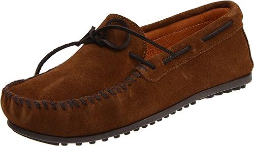Minnetonka Classic, Mocassins (loafers) homme, Marron (Dusty marron), 40.5
