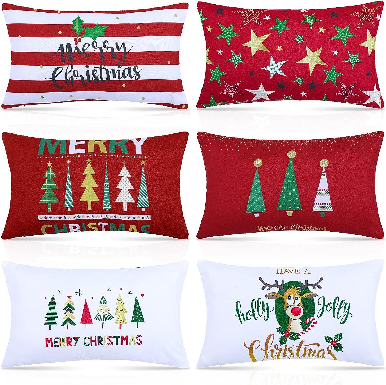 Snowman Christmas Pillow Cover