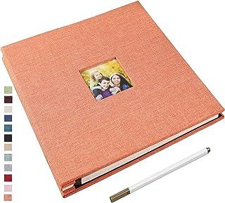 Yopih Albums Photos Adhésif avec 40 Pages Supplémentaire Grand Scrapbook Album DIY Magnétique Photo Album Soi Adhésif 48 d...
