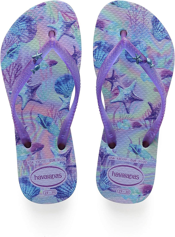 Havaianas Unisex-Child Kids Slim Summer Sandal