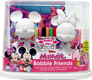 Tara Toys 94384 Disney Minnie & Mickey Bobble Friends Arts and Crafts Kit (9 Piece)