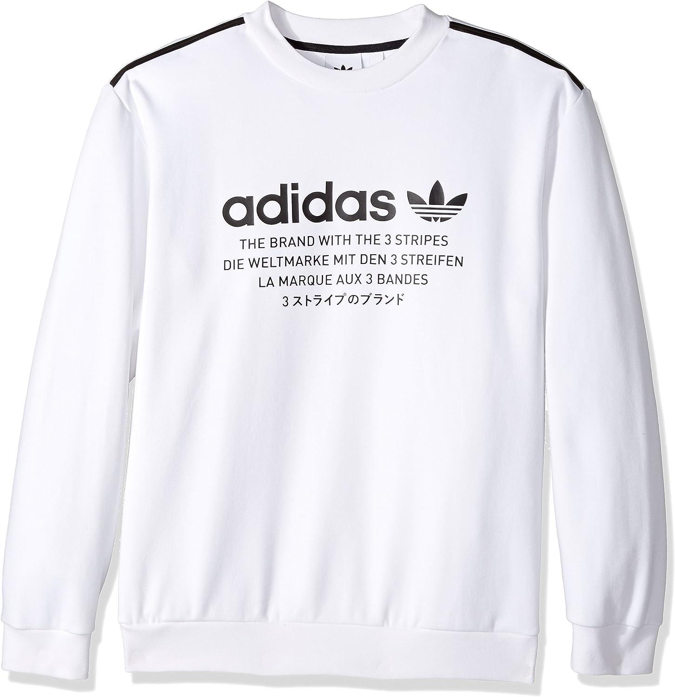 adidas Originals Men's NMD Crew Sweatshirt at Amazon Men's ...