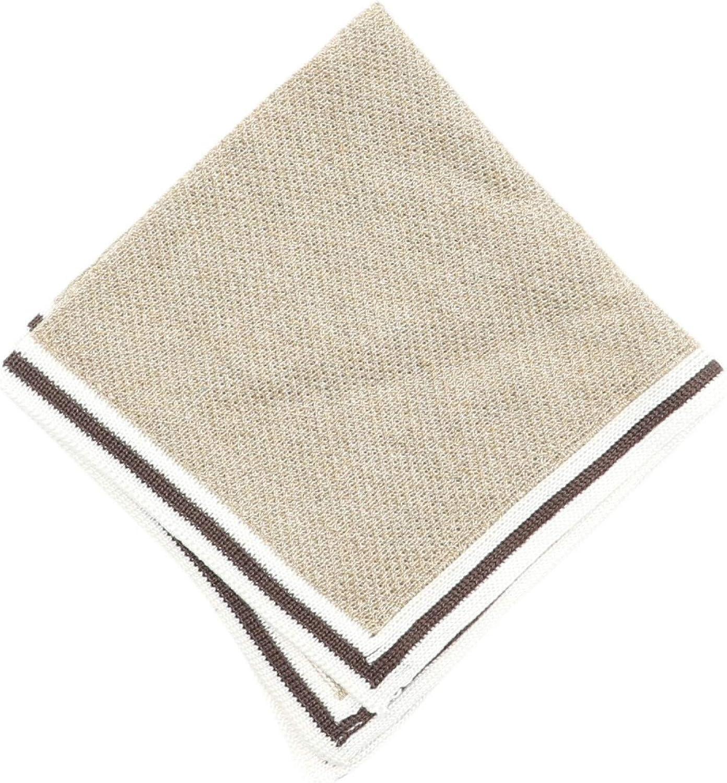 Canali Men's Cotton Pocket Square