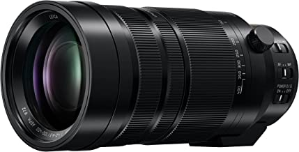 PANASONIC LUMIX G LEICA DG VARIO-ELMAR PROFESSIONAL LENS, 100-400MM, F4.0-6.3 ASPH, MIRRORLESS MICRO FOUR THIRDS, POWER OPTICAL I.S, H-RS100400 (Renewed)