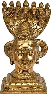 Exotic India Shiva Brass Statue