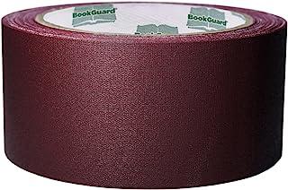 BookGuard 2 inch Premium Cloth Bookbinding Repair Tape, 15 Yard Roll Burgundy