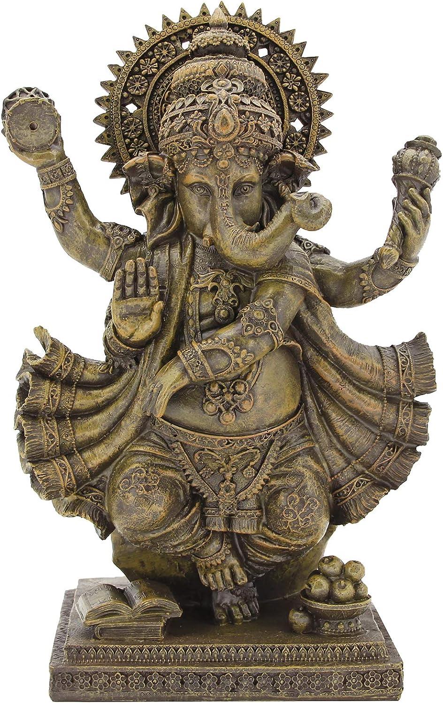 Leekung Ganesha Statues Max 60% OFF Home Decoration Ganesh Elephant Brand new Stat God