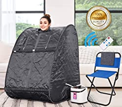 Himimi 2L Foldable Steam Sauna Portable Indoor Home Spa Weight Loss Detox with Chair..
