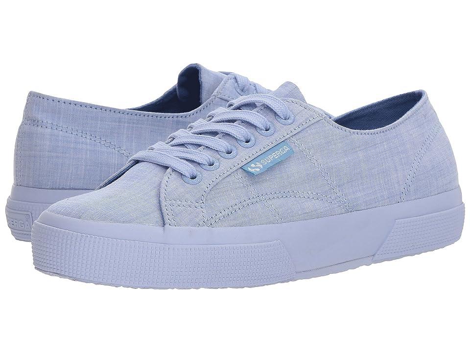 Superga 2750 Cottonmelangeu Sneaker (Blue) Women