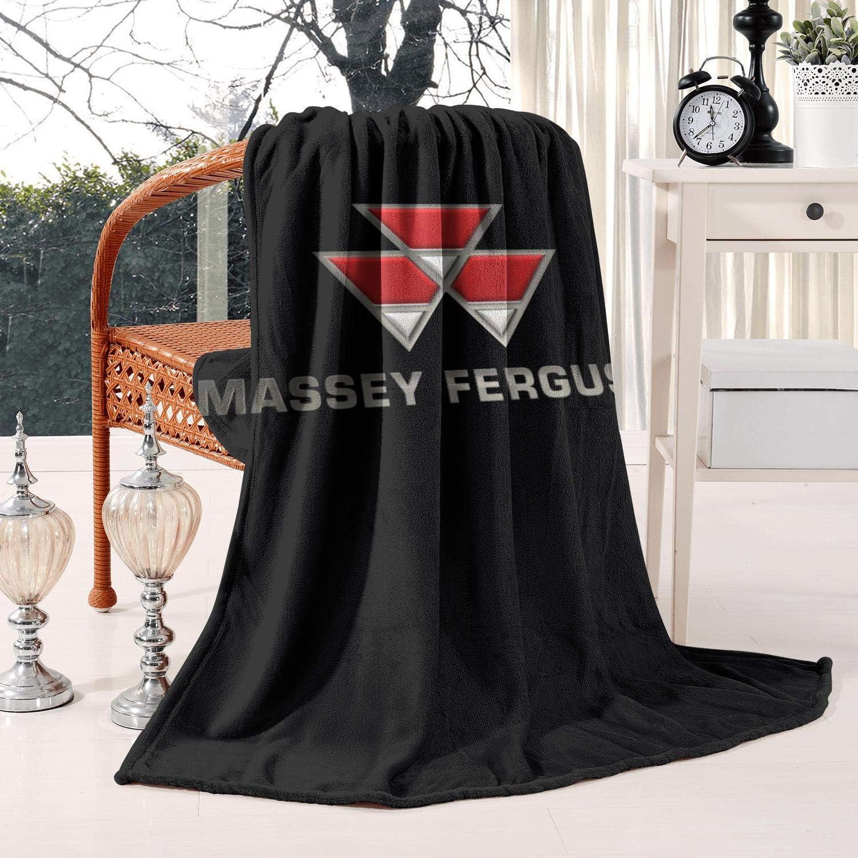 LSHOEJFVG Max 56% OFF Massey-Ferguson-Logo- 60X80 Inch Directly managed store Fleece Blanket Flanne
