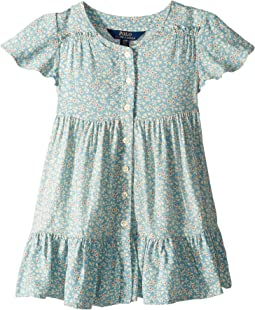 Shirred Floral Dress (Toddler)